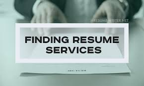 Finding The Right Resume Writing Service